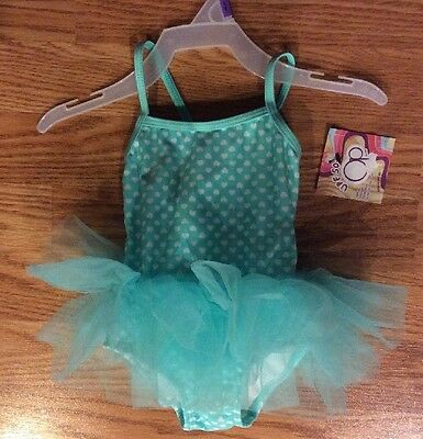 Op Baby Girl Kisses Skirted Tutu 1-Piece Swimsuit Size 12M (12 Months) NWT