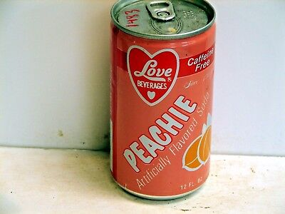 Love Peachie; Oklahoma Canning Company; Oklahoma City, OK; Full	Soda pop can