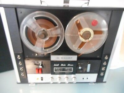 sharp reel to reel sterio player