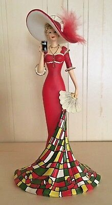 Coca Cola TIMELESSLY REFRESHING Victorian Lady in Red #1 in Hamilton Collection