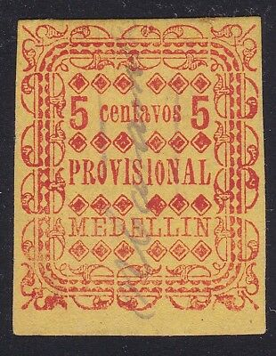 "Colombia States Antioquia #71 cancel ""Nuiva Caramento"", Scarce"