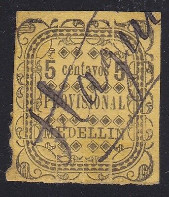 "Colombia States Antioquia #70 cancel ""Itagui"" Scarce"