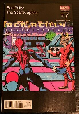 Ben Reilly: The Scarlet Spider #7 Hip Hop variant