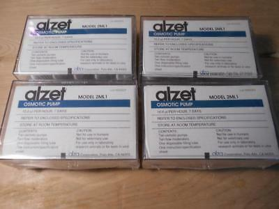 Alzet 2ML1 Osmotic Pumps - Four factory sealed boxes - 40 units NIB!