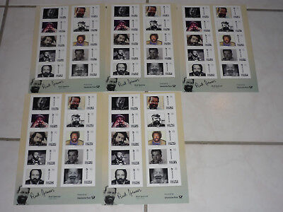 BUD SPENCER BRIEFMARKEN - 5 BÖGEN - 10 x 0,70 EURO - LIMITED EDITION - BILD