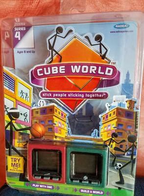 Radica Cube World Stick People Together Series 4 Brand New Sealed