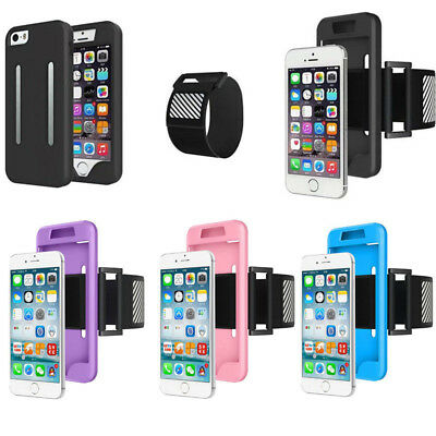 Sports Elastic Armband Case Cover Phone Holder Running For iPhone 6/6S Plus