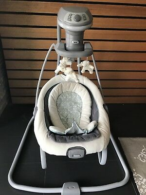 Graco Duet Soother Rocker & Swing