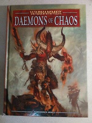 Warhammer Daemons Of Chaos Army Book 8th Edition Hardcover - ISBN 9781908872838