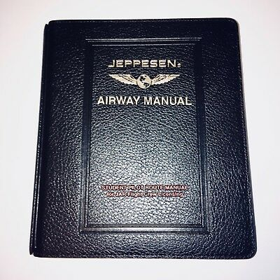 Jeppesen Student Pilot Route Manual - Charts and Maps for ATPL Theory