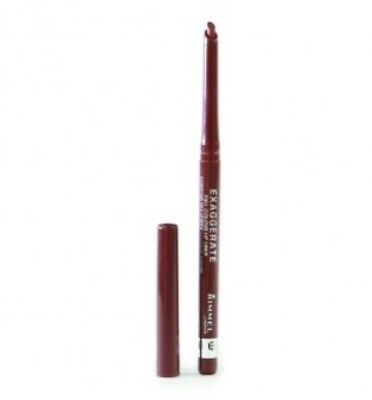 2 x Rimmel Exaggerate Lip Liner - 064 - Obsession - 0.25g Each Retractable NEW