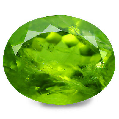 8.00 Ct Mind Boggling Rare Top Grade Genuine 100% Naturalgreen Peridot