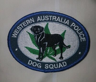WA Police Dog Patch - K9 Drug Squad Western Australia