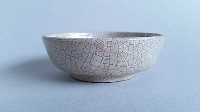 Brushwasher with white crackled glaze resembling Song Geyao, Qing 18th / 19th C