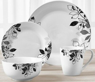 Tabletops Gallery Serenity round 32 Piece Ceramic Dinnerware Set Service for 8  sc 1 st  PicClick & Tabletops Gallery® Quinto 50-Piece Square Dinnerware Set \u2022 $142.11 ...