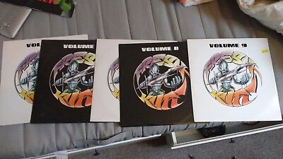"""Prisoners of Technology - five 12"""" singles Volumes 5 to 9"""