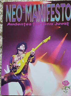 RARE Prince NEO MANIFESTO photo & poetry book. Mint Condition!  No rips or tears