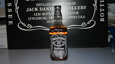 Jack Daniels Black Label Usa  1 Litre Fake Seal 43% 86 Proof Signed By Jimmy