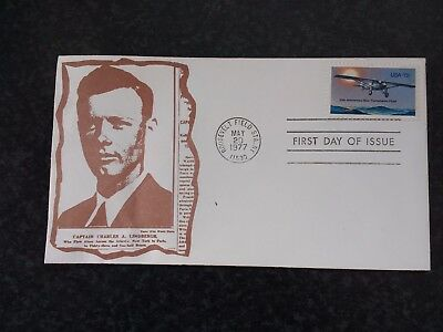 USA 1st DAY COVER   CHARLES LINDBERGH