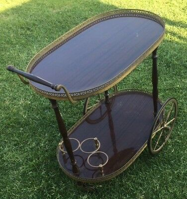 Drink trolley Sold as shown