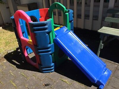 Kids outdoor play gym with slide Pick Up Doncaster East