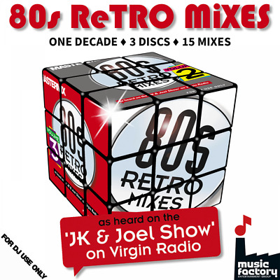 Mastermix 80s Retro Mixes 3 CD Set - 15 Megamixes of The Best Eighties Music