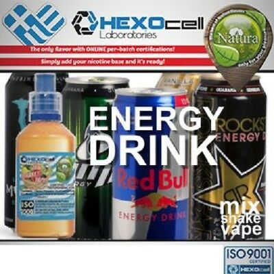 Liquid - Juice Natura - ENERGY DRINK 100ml Nicotine 18mg made in EU
