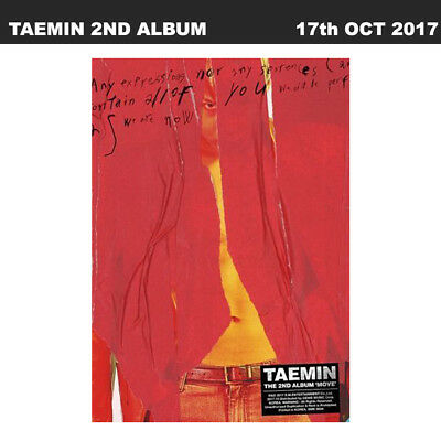▶◀SHINEE TAEMIN Move 2nd Album Random Ver. CD+Photo book+Photo card KPOP