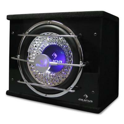 "Auna 12"" Custom In Car Audio Sub Woofer Led Lighting Fx Bass Box Speaker 800W"