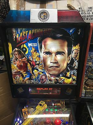 Last Action Hero Data East pinball machine from 1993