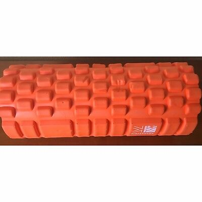 KARRIMOR FITNESS FOAM ROLLER 33cm ORANGE EXCERCISE STRETCHING PHYSICAL THERAPY