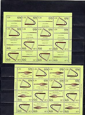 2000 abkhazia musical instruments sheet 2