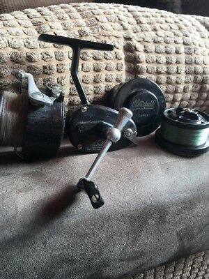 Mitchell 330 Otomatic Retro Fishing Reel + Spool+spool Case Autobail @nr #fish