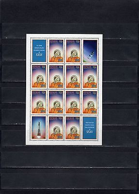 1996 South Ossetia space Gagarin sheet