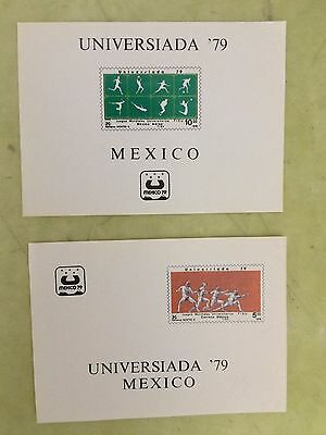 """stamp mexico 1979 Airmail - """"Universiada 79"""", 10th World Games, Mexico City"""