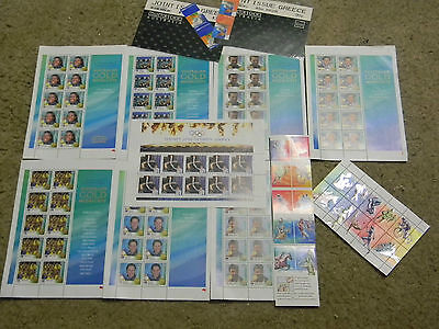 OLYMPICS- SYDNEY 2000- Set of Stamp Sheets- *RARE* Australia Post