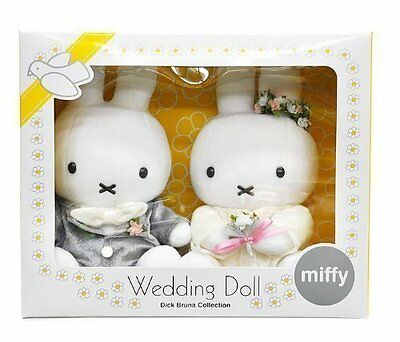 Brand New Plusshed Doll: Miffy and Bruna Wedding