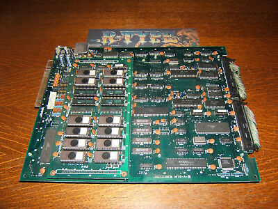 R-Type Original Irem M-72 PCB-Jamma from 1987 like New+Extras !!!