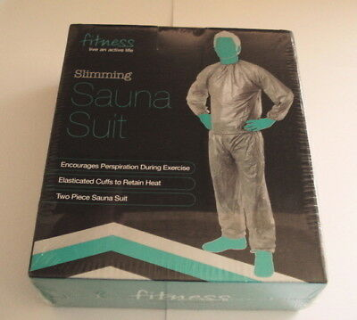 Fitness Ladies Slimming Sauna Suit Two Piece Slimming / Weight Loss size S/M