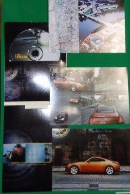 Nissan 2003 The Run DVD Promo With All 3 Postcards