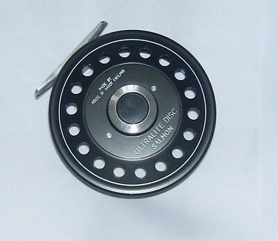 Hardy Ultralite Disc Salmon Reel.+ Spare Spool +Lines +Bags