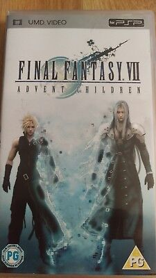 Final Fantasy VII - Advent Children (UMD, 2006, Animated)