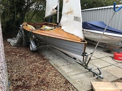 Merlin Rocket 14ft Sailing Boat with equipment