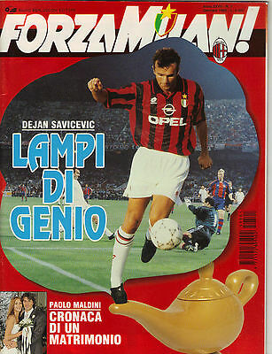 1994/95    AC Milan  v   Arsenal     Super Cup    Forza Milan    Excellent