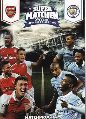 2016/17    Arsenal    v    Man City    In Gothenburg   Super Matchen