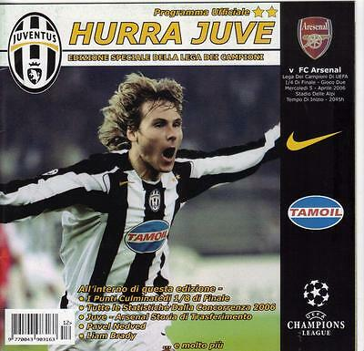 2005/06    Juventus     v     Arsenal     HURRA JUVE