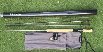 L.L.Bean Silver Ghost Fly / Bait Casting Rod - New