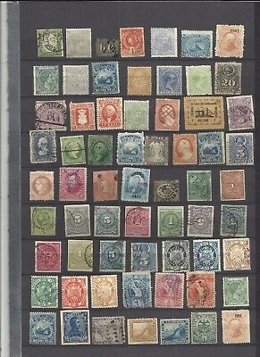 World  classic stamps  lucky dip lot 699