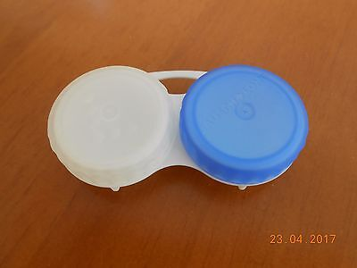 3 X Contact Lens Storage Soaking Cases - L+R