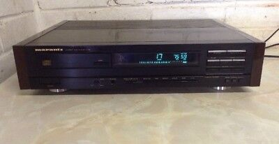 High End Marantz Cd85 CD Player - DC Amplification Hr Circuits Fully Working